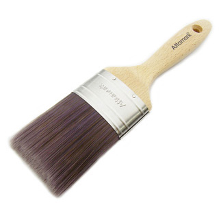 Oval, SRT Polyester Brush